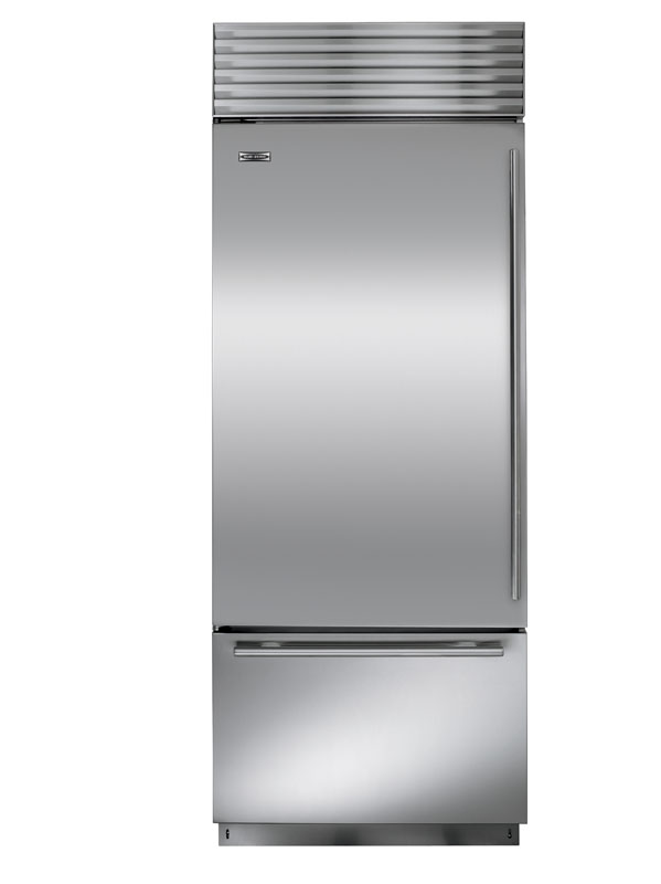 "Sub Zero BI-30U/O-Left Hinge - 30"" Stainless Steel, Over/Under, Overlay Refrigerator"