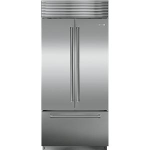 "Sub Zero BI-36UFD/O - 36"" Stainless Steel, Over/Under French Door Refrigerator"
