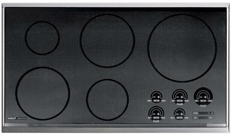 "Wolf CT36I/S - 36"" Induction Cooktop"