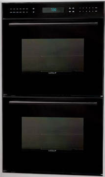 "Wolf DO30-2GB - Black 30"" Double Oven"