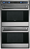 "Wolf DO30-2U/STH - 30"" Stainless Steel E Series Double Oven"
